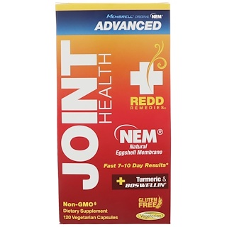 Redd Remedies, Joint Health Advanced, 120 Vegetarian Capsules