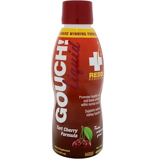 Redd Remedies, Gouch Liquid, Tart Cherry Formula, 16 fl oz (473 ml)