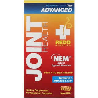 Redd Remedies, Joint Health Advanced, 60 Vegetarian Capsules