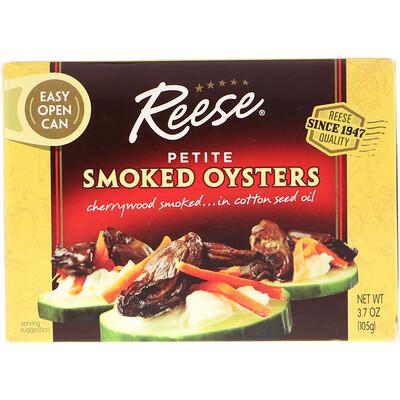 Reese Petite Smoked Oysters, 3.7 oz (105 g)  - купить со скидкой
