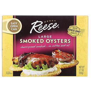Риз, Large Smoked Oysters, 3.7 oz (105 g) отзывы