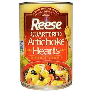 Reese, 사등분된 아티초크 하트, 14 온스 (396 g)