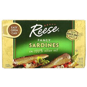 Риз, Fancy Sardines, 4.375 oz (124 g) отзывы