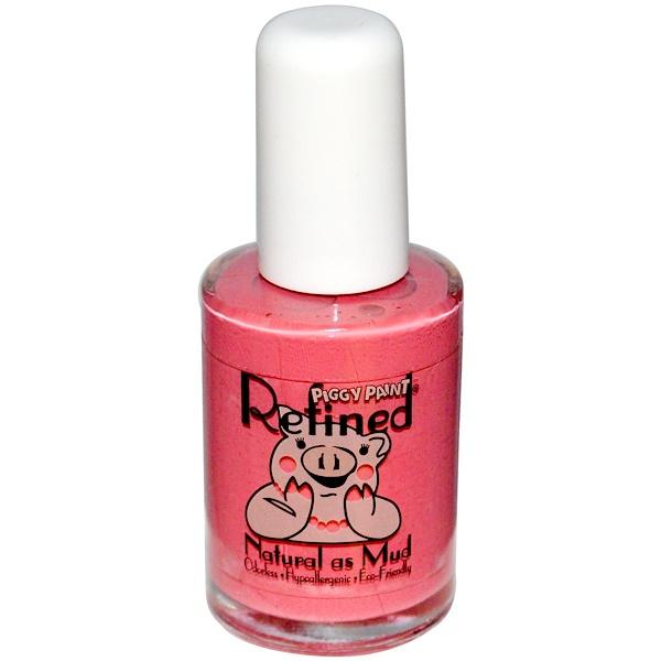 Refined, Piggy Paint, Nail Polish, Not Your Mama's Mauve, 0.5 fl oz (15 ml) (Discontinued Item)