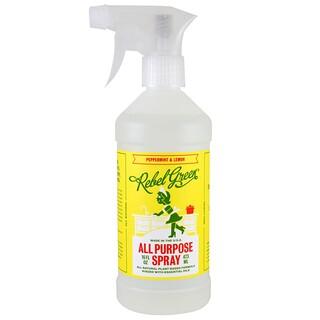 Rebel Green, All Purpose Spray, Peppermint & Lemon, 16 fl oz (473 ml)