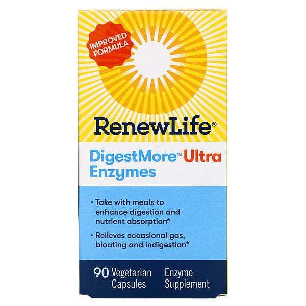 DigestMore Ultra Enzymes, 90 Vegetarian Capsules