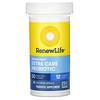 Renew Life, Extra Care, Ultimate Flora пробиотик с повышенной силой действия, 50млрд живых культур, 30вегетарианских капсул