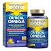 Critical Omega, Ultra-Concentrated, Natural Orange Flavor, 60 Enteric-Coated Softgels - изображение
