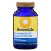 Renew Life, Critical Omega, Ômega-3 de Óleo de Peixe Norwegian Gold, 60 Cápsulas Softgel Revestidas Entericamente