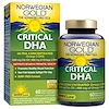 Renew Life, Critical DHA, Natural Orange Flavor, 60 Enteric-Coated Softgels