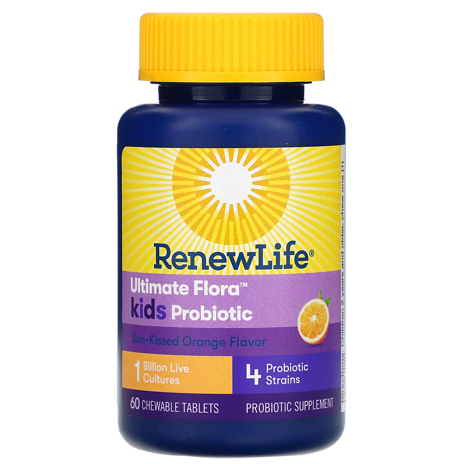 Renew Life Ultimate Flora Kids Probiotic Sun Kissed