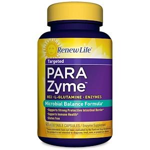 Ренев Лифе, Targeted, ParaZyme, 90 Vegetable Capsules отзывы