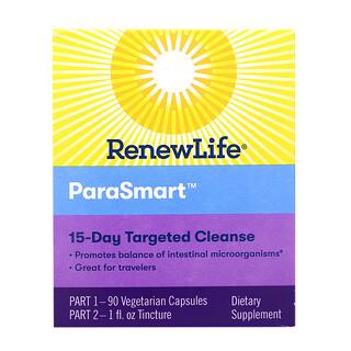 Renew Life, ParaSmart, 정화까지 총 15일, 전기/후기