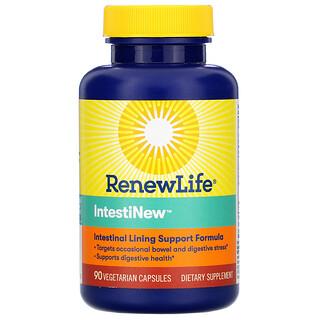 Renew Life, IntestiNew, 90 растительных капсул