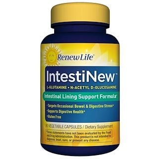 Renew Life, IntestiNew, 90 Cápsulas Vegetais