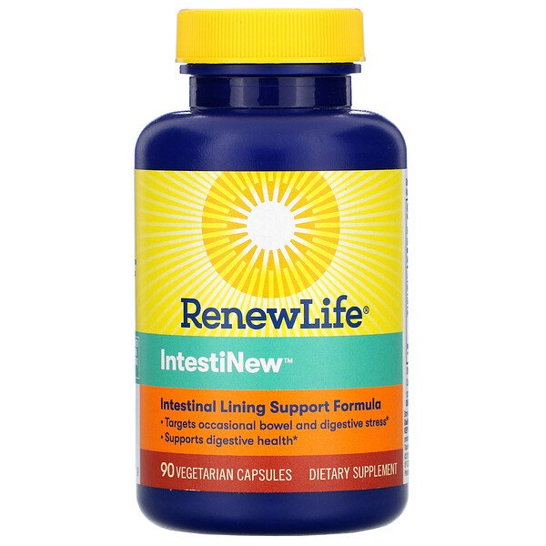 Renew Life, IntestiNew, 90 Vegetarian Capsules