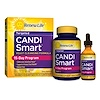 Renew Life, Targeted, Candi Smart, Yeast Cleansing Formula, 15 Day Program, 2 Part Program