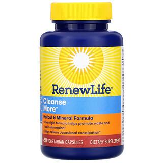 Renew Life, Cleanse More, 60 Vegetarian Capsules