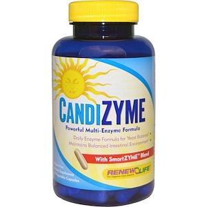 Ренев Лифе, CandiZyme, 45 Vegetable Capsules отзывы