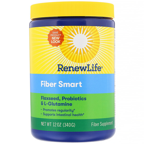 Renew Life, Fiber Smart, 12 oz (340 g) (Discontinued Item)