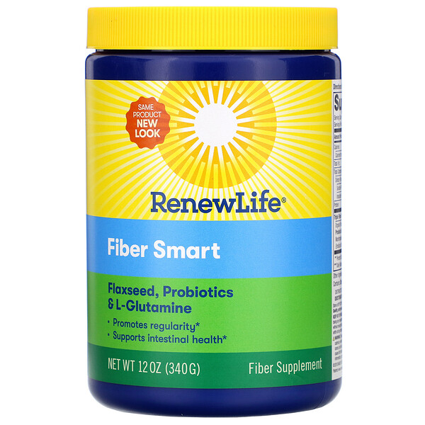 Renew Life, Fiber Smart، 12 أونصة (340 جم) (Discontinued Item)