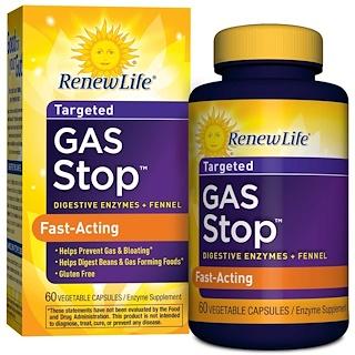 Renew Life, Gas Stop, 60 Veggie Caps