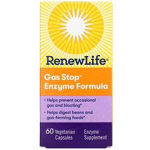 Ренев Лифе, Gas Stop Enzyme Formula, 60 Vegetarian Capsules отзывы покупателей