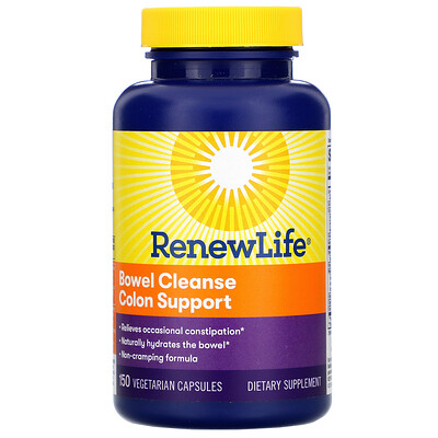 Фото - Bowel Cleanse Colon Support, 150 Vegetarian Capsules ip6 gold immune support formula 240 vegetarian capsules