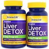 Renew Life, Targeted, Liver Detox, Organ Cleansing Program, 120 Veggie Caps, 2 Bottles, 30-Day Program