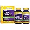 Renew Life, Targeted, Liver Detox, 120 Veggie Caps, 2 Bottles, 30-Day Program