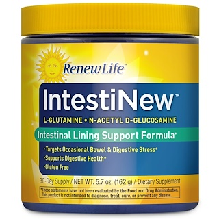 Renew Life, IntestiNew, Intestinal Lining Support Formula, 5.7 oz (162 g)