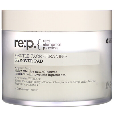 RE:P Gentle Face Cleaning, Remover Pads, 70 Pads, 60.8 fl oz (180 ml)