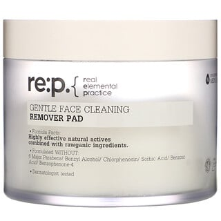 RE:P, Gentle Face Cleaning, Remover Pad, 70 Pads, 6.08 fl oz (180 ml)