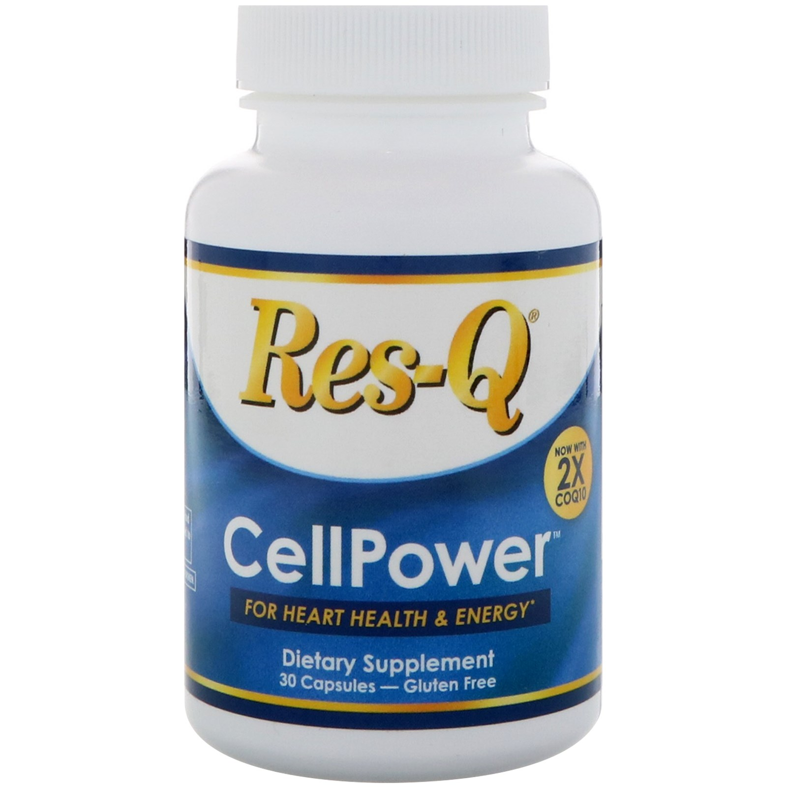 Res-Q, CellPower, 2X CoQ10, 30 Capsules