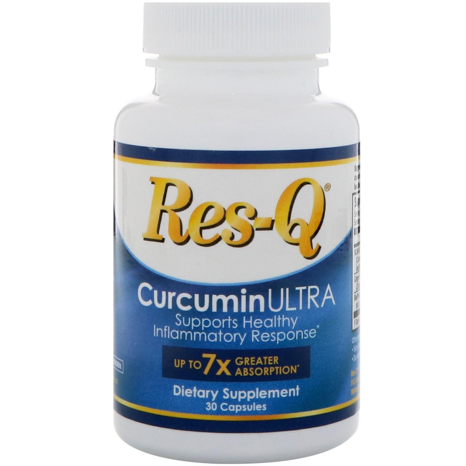 Res-Q, CurcuminULTRA, 30 Capsules