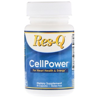 Res-Q, CellPower, For Heart Health & Energy, 10 Capsules