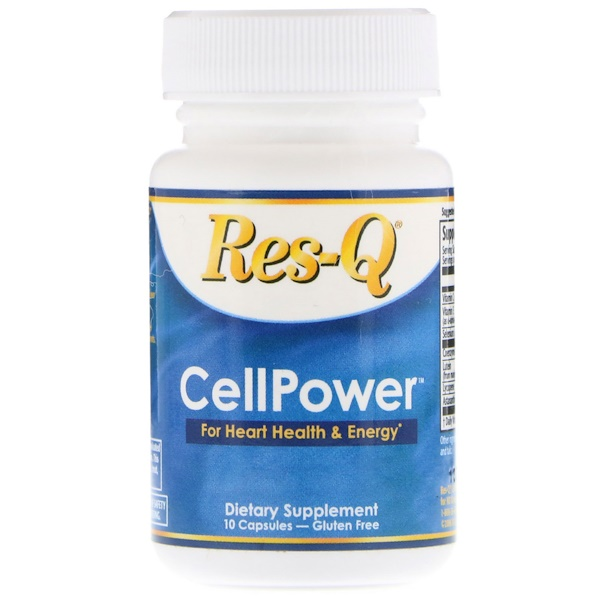 Res-Q, CellPower, For Heart Health & Energy, 10 Capsules (Discontinued Item)