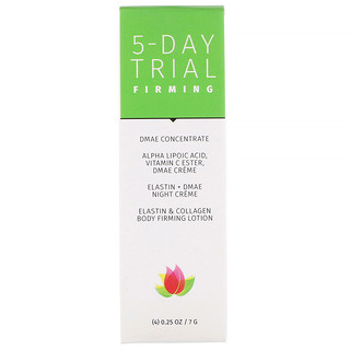 Reviva Labs, 5-Day Trial, Firming, 4 Piece Kit, 0.25 oz (7 g) Each