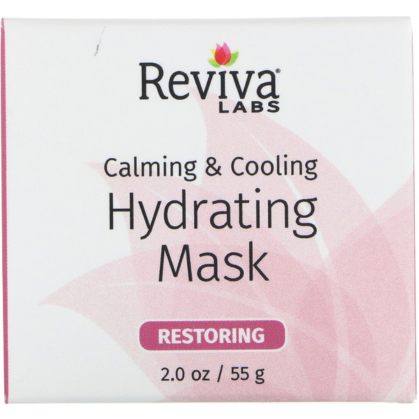 Reviva Labs, Calming & Cooling, Hydrating Mask, 2.0 oz (55 g) (Discontinued Item)