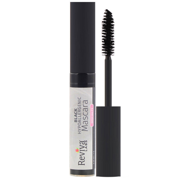 Reviva Labs, Hypoallergenic Mascara, Black, 0.25 oz (7 g)