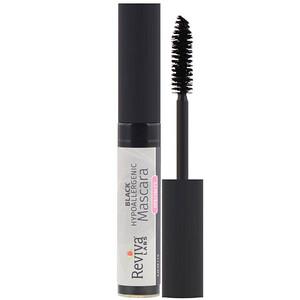 Ревива Лабс, Hypoallergenic Mascara, Black, 0.25 oz (7 g) отзывы покупателей