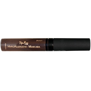 Reviva Labs, HypoAllergenic Mascara, Brown, .25 oz