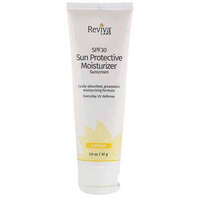 Sun Protective Moisturizer Sunscreen, SPF 30, 3.0 oz (87 g) face mineral based sunscreen spf 30 5 oz 141 7 g