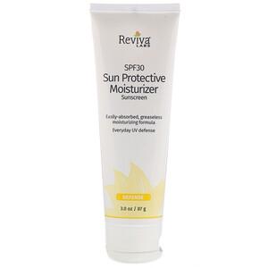 Ревива Лабс, Sun Protective Moisturizer Sunscreen, SPF 30, 3.0 oz (87 g) отзывы покупателей