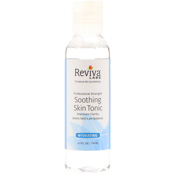 Reviva Labs, Soothing Skin Tonic, 4 fl oz (118 ml) (Discontinued Item)