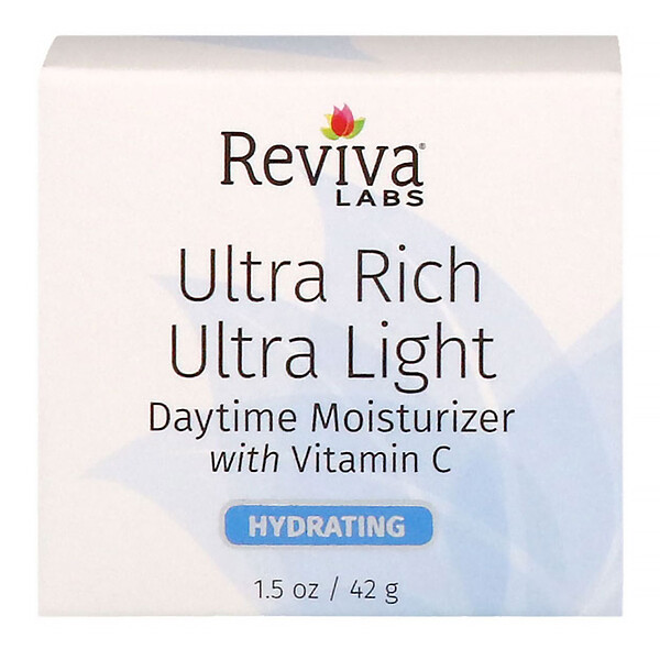 Ultra Rich Ultra Light Daytime Moisturizer with Vitamin C, 1.5 oz (42 g)