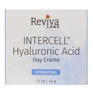 Reviva Labs, InterCell, Hyaluronic Acid Day Cream, 1.5 oz (42 g)