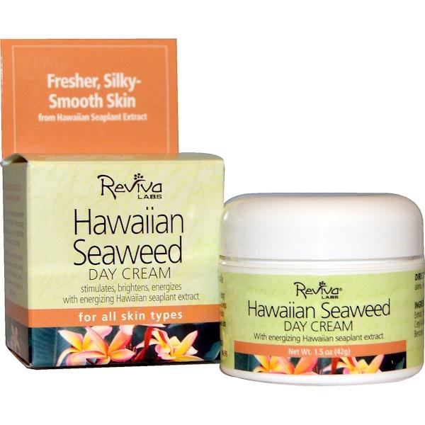 Reviva Labs, Гавайский дневной крем с водорослями, 1,5 унций (42 г) (Discontinued Item)