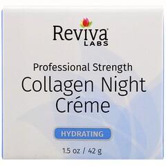 Reviva Labs, 膠原蛋白晚霜,1.5 盎司(42 克)
