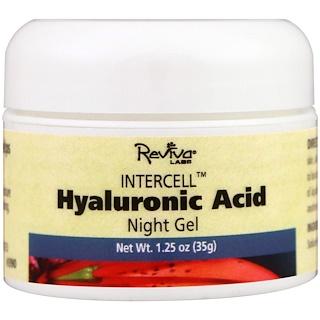Reviva Labs, InterCell, Hyaluronic Acid Night Gel, 1.25 oz (35 g)